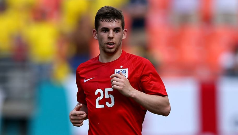 MIAMI GARDENS, FL - JUNE 04:  Jon Flanagan in action during the International friendly match between England and Ecuador at Sun Life Stadium on June 4, 2014 in Miami Gardens, Florida.  (Photo by Richard Heathcote/Getty Images)