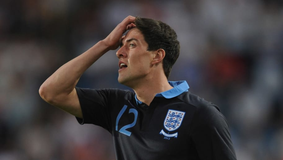 OSLO, NORWAY - MAY 26: Martin Kelly of England looks on during the international friendly match between Norway and England at the Ullevaal Stadion on May 26, 2012 in Oslo, Norway.  (Photo by Michael Regan/Getty Images)