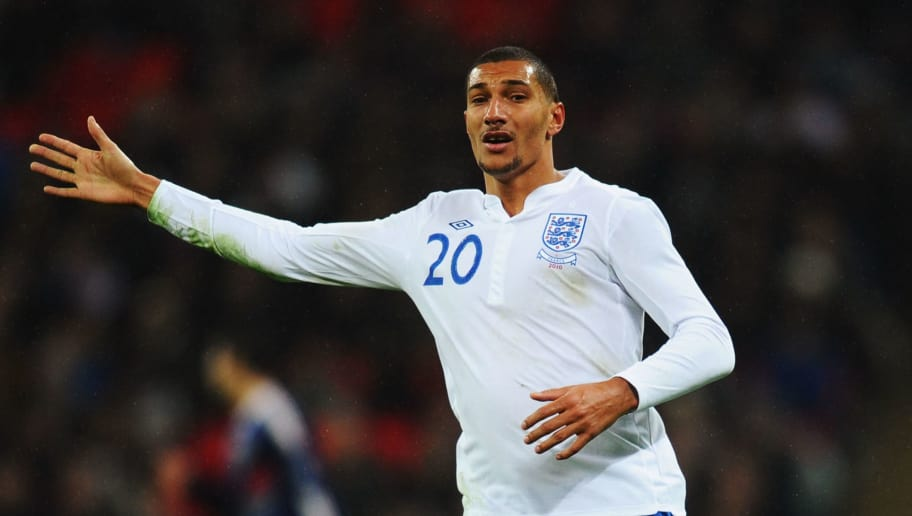 LONDON, ENGLAND - NOVEMBER 17:  Jay Bothroyd of England in action during the international friendly match between England and France at Wembley Stadium on November 17, 2010 in London, England.  (Photo by Mike Hewitt/Getty Images)