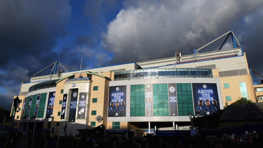 LONDON, ENGLAND - NOVEMBER 05:  General view outside the stadium prior to the Premier League match between Chelsea and Manchester United at Stamford Bridge on November 5, 2017 in London, England.  (Photo by Shaun Botterill/Getty Images)
