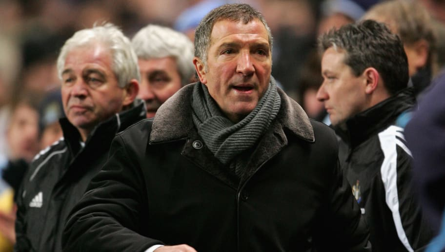 MANCHESTER, UNITED KINGDOM - FEBRUARY 01:  Graeme Souness of Newcastle United looks dejected after the Barclays Premiership match between Manchester City and Newcastle United at the City Of Manchester Stadium on February 1, 2006, in Manchester, England.  (Photo by Clive Mason/Getty Images)