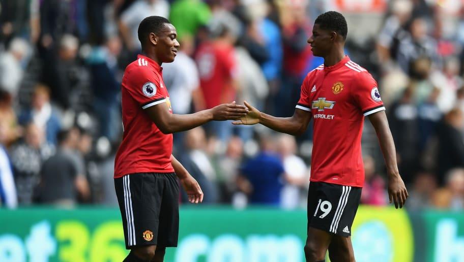 Man Utd Boss Jose Mourinho Reveals Why He Doesn't Often Play Both Rashford  & Martial | 90min