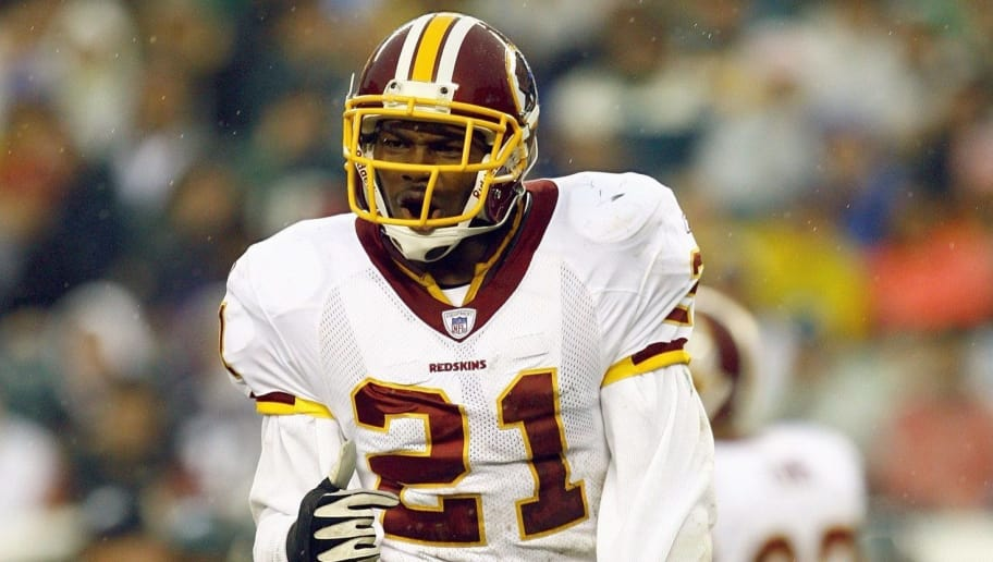 PHILADELPHIA - NOVEMBER 12:  Sean Taylor #21 of the Washington Redskins jogs on the field during the game against the Philadelphia Eagles at Lincoln Financial Field on November 12, 2006 in Philadelphia, Pennsylvania. (Photo by Jamie Squire/Getty Images)