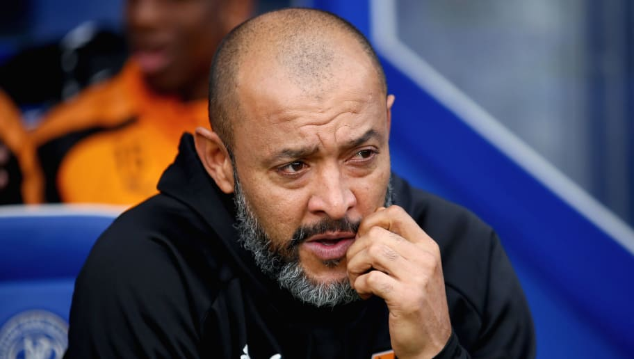 LONDON, ENGLAND - OCTOBER 28: Nuno Espirito Santo Head Coach of Wolverhampton Wanderers looks on prior to the Sky Bet Championship match between Queens Park Rangers and Wolverhampton Wanderers at Loftus Road on October 28, 2017 in London, England. (Photo by Harry Murphy/Getty Images)