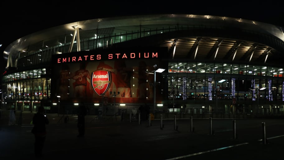 LONDON, ENGLAND - NOVEMBER 29:  General view outside the stadium prior to the Premier League match between Arsenal and Huddersfield Town at Emirates Stadium on November 29, 2017 in London, England.  (Photo by Julian Finney/Getty Images)