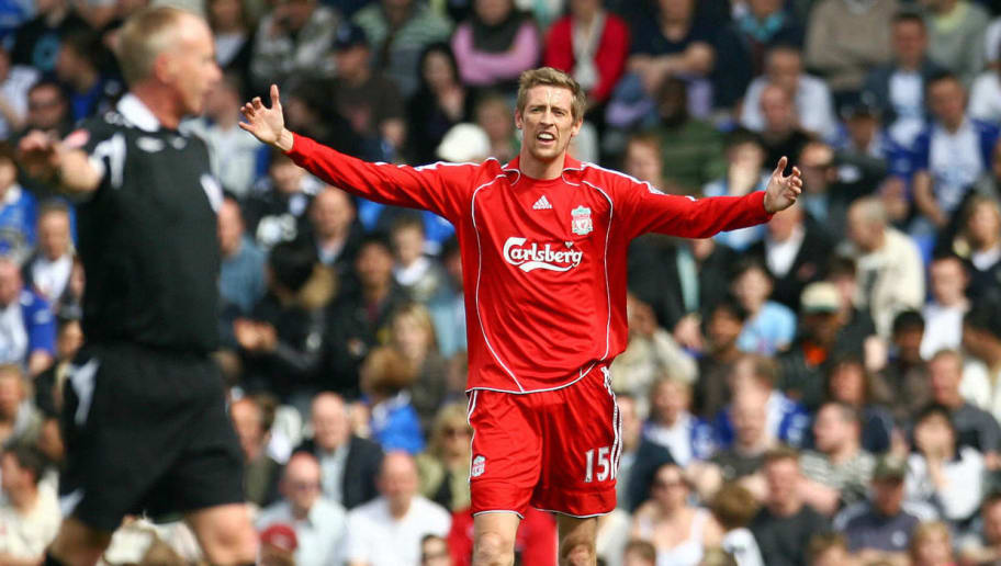 Image result for peter crouch liverpool