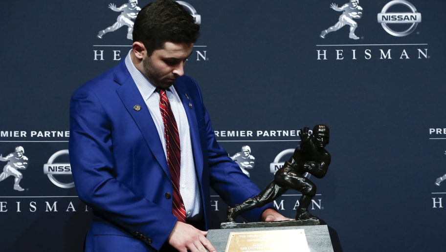 13e1cacaf Baker Mayfield Wins the Heisman Trophy   12up