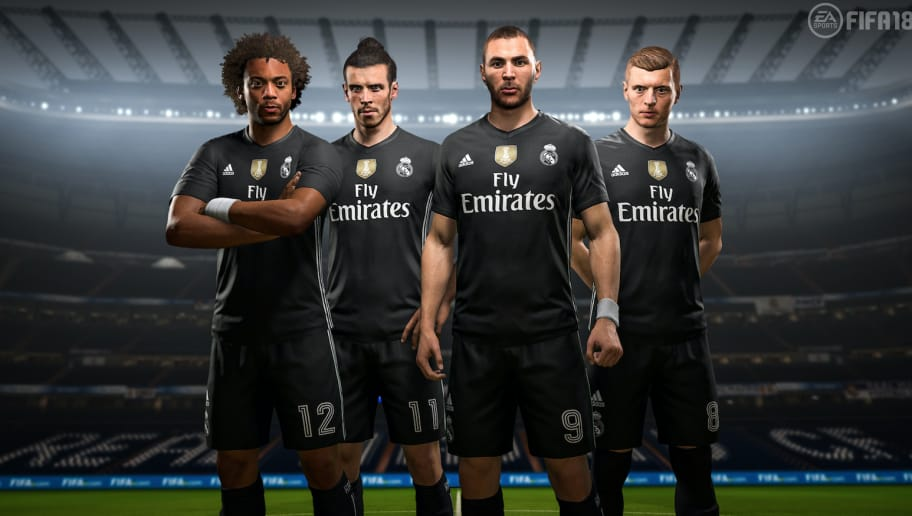 4e0cb92f8 PHOTOS  EA Sports Announce Exclusive Digital 4th Kits for 4 Clubs in FIFA  18 Ultimate Team