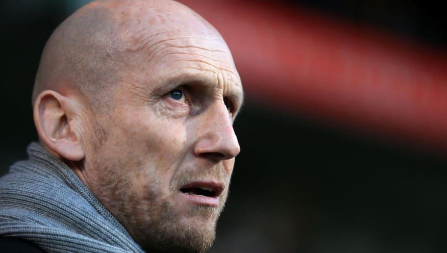 IPSWICH, ENGLAND - DECEMBER 16:  Reading Manager Jaap Stam during the Sky Bet Championship match between Ipswich Town and Reading at Portman Road on December 16, 2017 in Ipswich, England. (Photo by Stephen Pond/Getty Images)