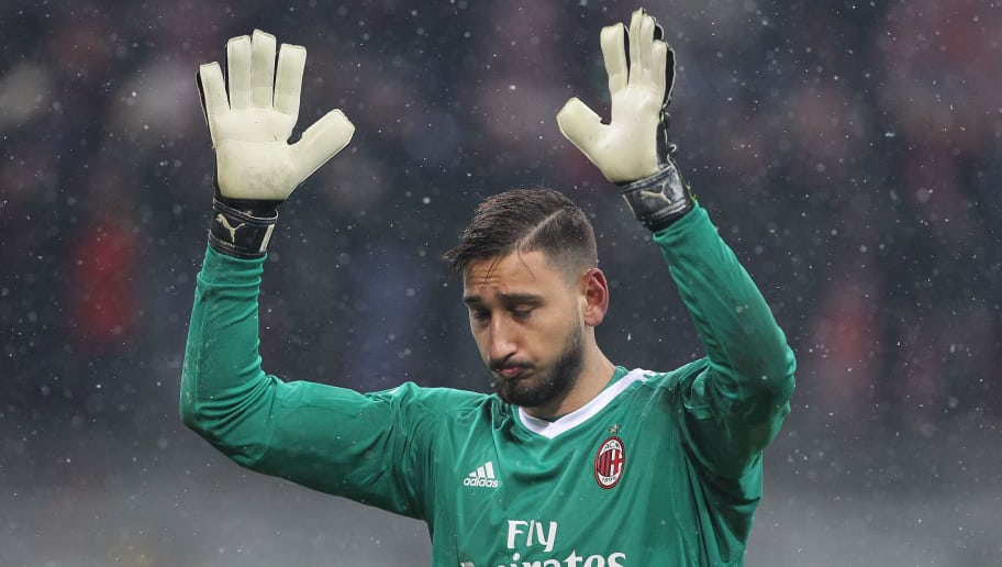 a509685b325 AC Milan s Star Goalkeeper to Miss Wednesday s Derby Della Madonnina ...
