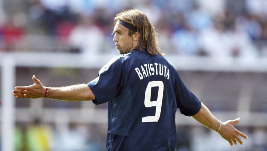 Image result for batistuta nigeria 2002