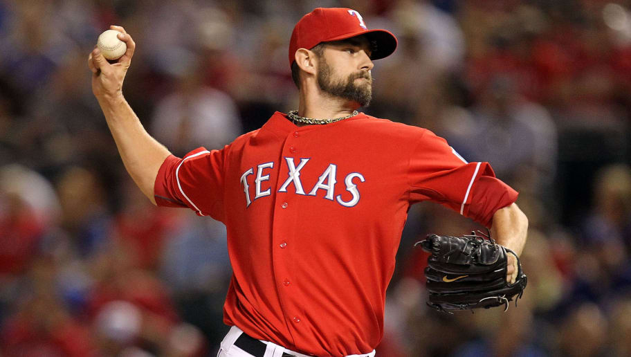 ARLINGTON, TX - OCTOBER 01:   Pitcher Dustin Nippert #57 of the Texas Rangers at Rangers Ballpark in Arlington on October 1, 2010 in Arlington, Texas.  (Photo by Ronald Martinez/Getty Images)