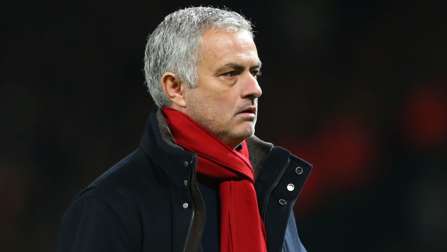 MANCHESTER, ENGLAND - DECEMBER 30:  Jose Mourinho, Manager of Manchester United looks thoughtful after the Premier League match between Manchester United and Southampton at Old Trafford on December 30, 2017 in Manchester, England.  (Photo by Alex Livesey/Getty Images)