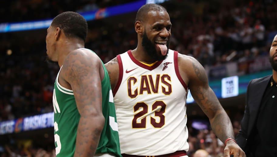 8963811e732c LeBron Throws Big Time Shade at Celtics Following Loss