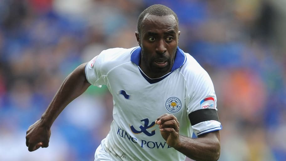 CARDIFF, WALES - SEPTEMBER 25: Darius Vassell of Leicester City in action during the npower Championship match between Cardiff City and Leicester City at the Cardiff City Stadium on September 25, 2011 in Cardiff, Wales.  (Photo by Michael Regan/Getty Images)