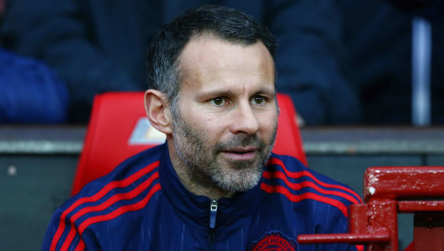 MANCHESTER, ENGLAND - DECEMBER 19:  Manchester United assistant manager Ryan Giggs is seen prior to the Barclays Premier League match between Manchester United and Norwich City at Old Trafford on December 19, 2015 in Manchester, England.  (Photo by Clive Brunskill/Getty Images)