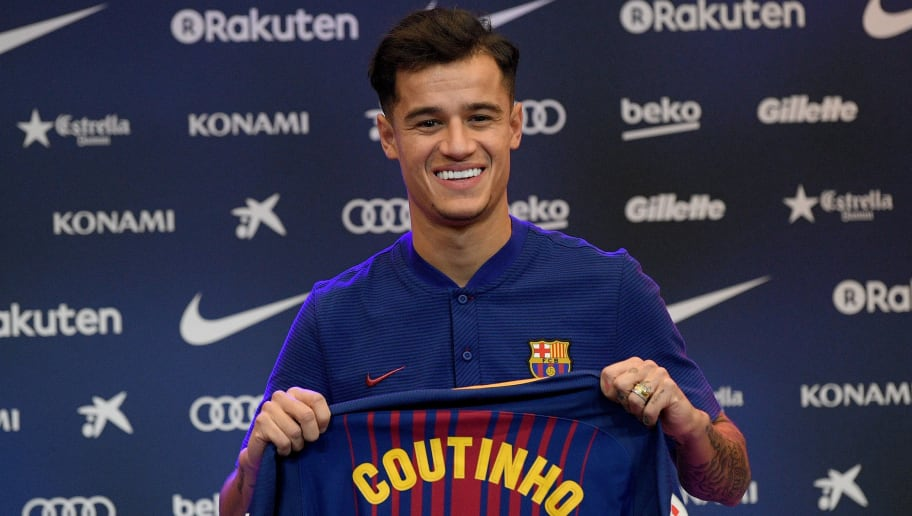 Trikotnummer Coutinho