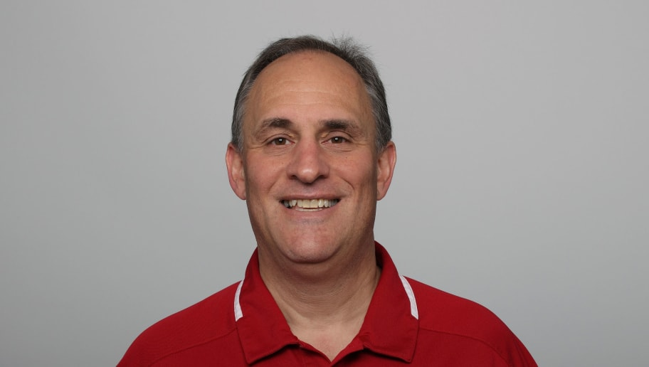SAN FRANCISCO, CA - CIRCA 2011: In this handout image provided by the NFL,  Vic Fangio of the San Francisco 49ers poses for his NFL headshot circa 2011 in San Francisco, California. (Photo by NFL via Getty Images)