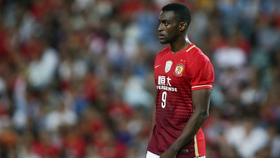 SYDNEY, AUSTRALIA - MARCH 02:  Jackson Martinez of Guangzhou Evergrande looks on during the AFC Champions League match between Sydney FC and Guangzhou Evergrande FC at Allianz Stadium on March 2, 2016 in Sydney, Australia.  (Photo by Matt King/Getty Images)