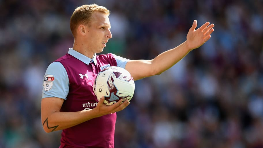 BIRMINGHAM, ENGLAND - SEPTEMBER 11:  Ritchie De Laet of Villa looks on during the Sky Bet Championship match between Aston Villa and Nottingham Forest at Villa Park on September 11, 2016 in Birmingham, England.  (Photo by Michael Regan/Getty Images)