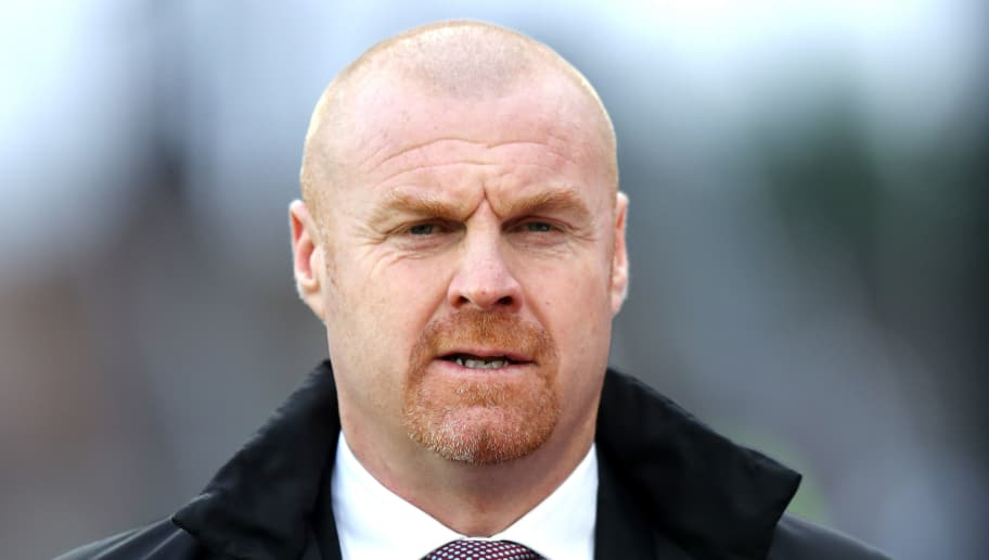 LONDON, ENGLAND - JANUARY 13:  Sean Dyche, Manager of Burnley looks on prior to the Premier League match between Crystal Palace and Burnley at Selhurst Park on January 13, 2018 in London, England.  (Photo by Bryn Lennon/Getty Images)