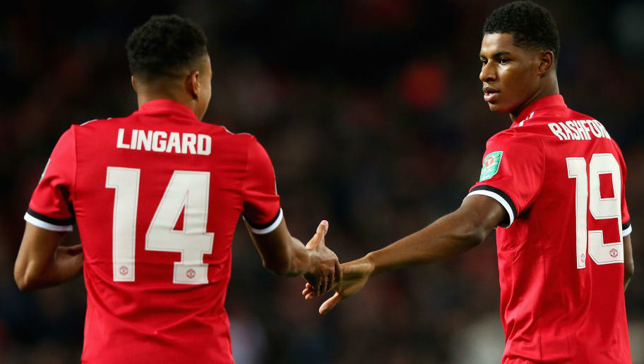 Marcus Rashford Shows Sense Of Humour Following Hilarious Comment He Made To Jesse Lingard 90min