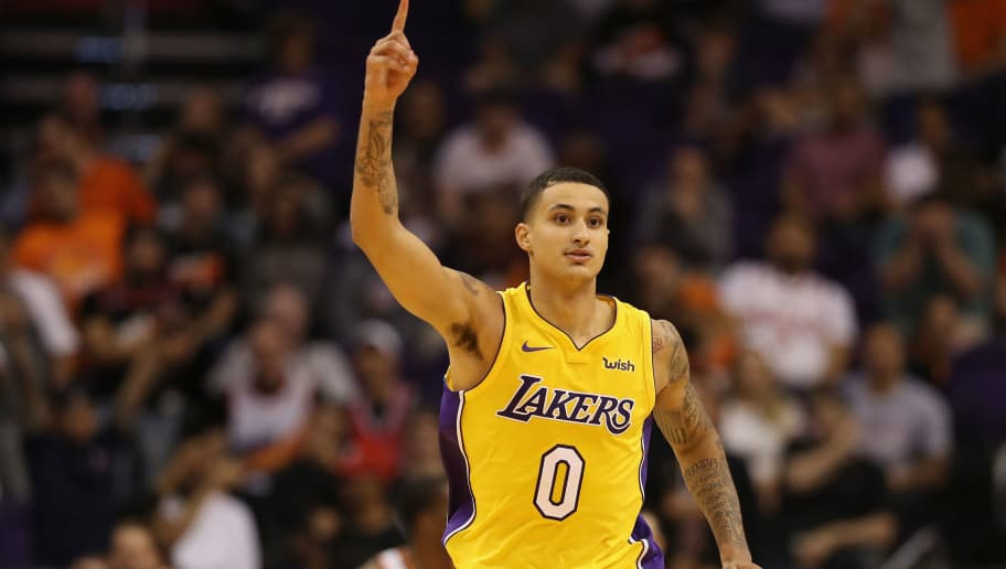 quality design 827df 63f2e Kyle Kuzma Thinks He Has 'Mamba Mentality' | 12up