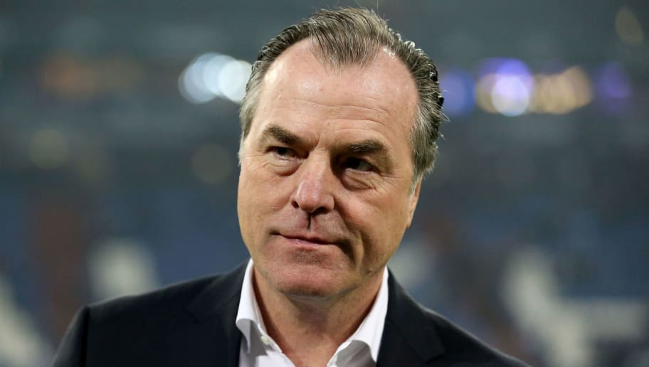GELSENKIRCHEN, GERMANY - DECEMBER 02:  Clemesn Toennies, chairman of the board of Schalke is seen prior to the Bundesliga match between FC Schalke 04 and 1. FC Koeln at Veltins-Arena on December 2, 2017 in Gelsenkirchen, Germany.  (Photo by Christof Koepsel/Bongarts/Getty Images)