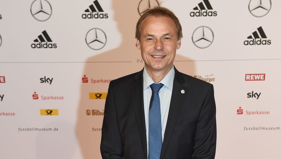 DORTMUND, GERMANY - OCTOBER 23:  Olaf Thon arrives for  the Opening Gala of the German Football Museum on October 23, 2015 in Dortmund, Germany.  (Photo by Dennis Grombkowski/Bongarts/Getty Images)