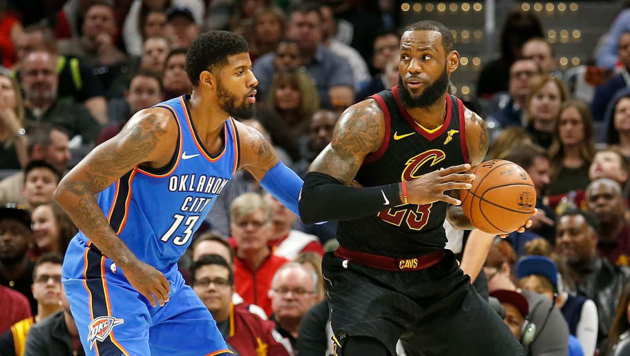 06a9985a1e1a REPORT  LeBron Upset With Cavs for Failing to Land Paul George