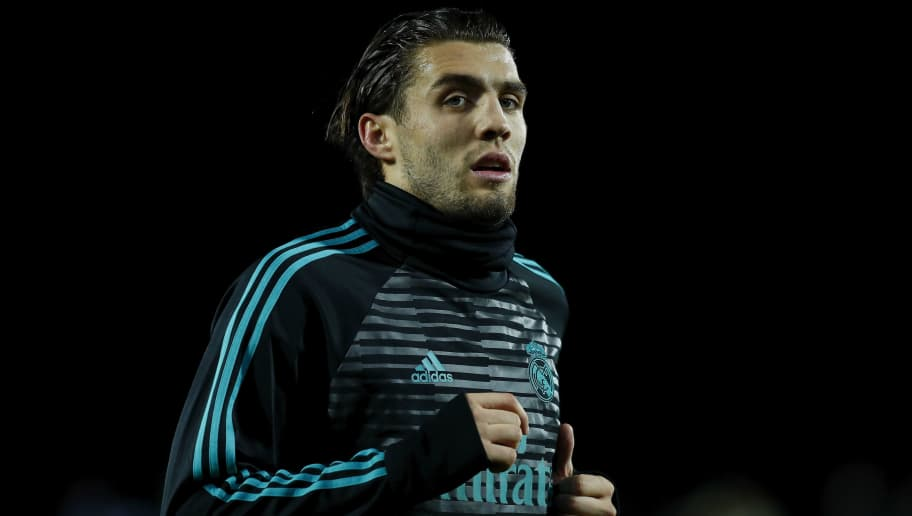 LEGANES, SPAIN - JANUARY 18: Mateo Kovacic of Real Madrid CF in action during his warming-up session before the Copa del Rey quarter final first leg match between Real Madrid CF and Club Deportivo Leganes at Estadio Municipal de Butarque on January 18, 2018 in Leganes, Spain.  (Photo by Gonzalo Arroyo Moreno/Getty Images)
