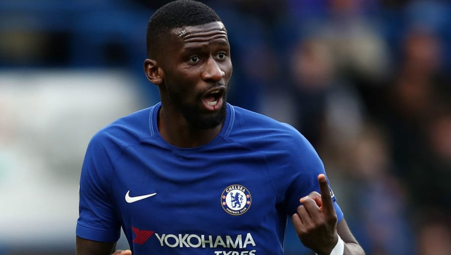 LONDON, ENGLAND - JANUARY 28: Antonio Rudiger of Chelsea during the Emirates FA Cup Fourth Round match between Chelsea and Newcastle United on January 28, 2018 in London, United Kingdom. (Photo by Catherine Ivill/Getty Images)
