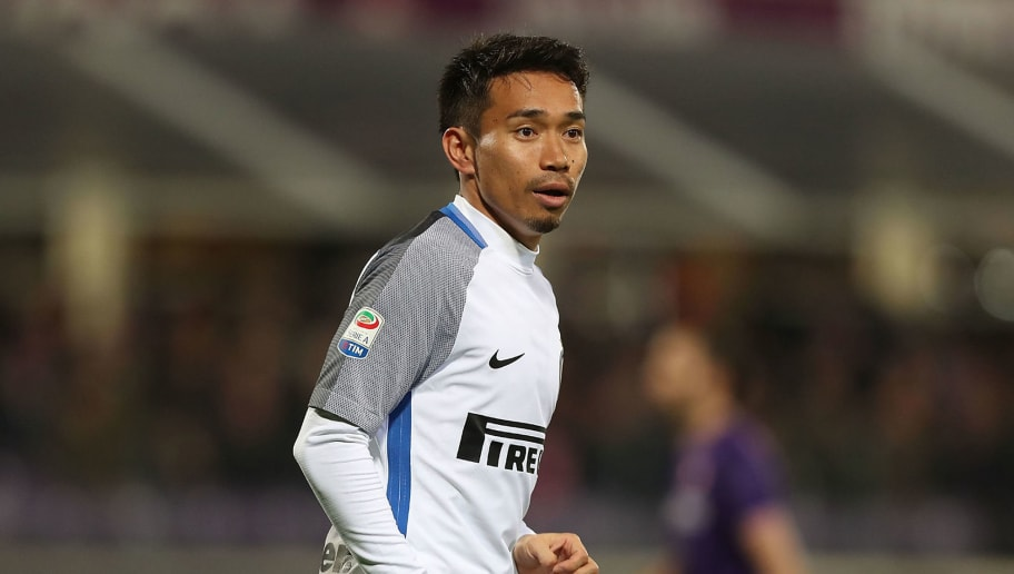 FLORENCE, ITALY - JANUARY 05: Yuto Nagatomo of FC Internazionale in action during the serie A match between ACF Fiorentina and FC Internazionale at Stadio Artemio Franchi on January 5, 2018 in Florence, Italy.  (Photo by Gabriele Maltinti/Getty Images)