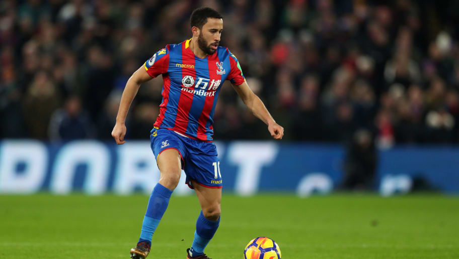 LONDON, ENGLAND - DECEMBER 28: Andros Townsend of Crystal Palace during the Premier League match between Crystal Palace and Arsenal at Selhurst Park on December 28, 2017 in London, England. (Photo by Catherine Ivill/Getty Images)