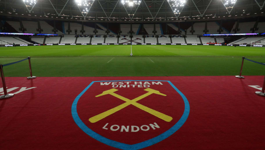 LONDON, ENGLAND - JANUARY 02:  A general view inside the stadium prior to the Premier League match between West Ham United and West Bromwich Albion at London Stadium on January 2, 2018 in London, England.  (Photo by Catherine Ivill/Getty Images)