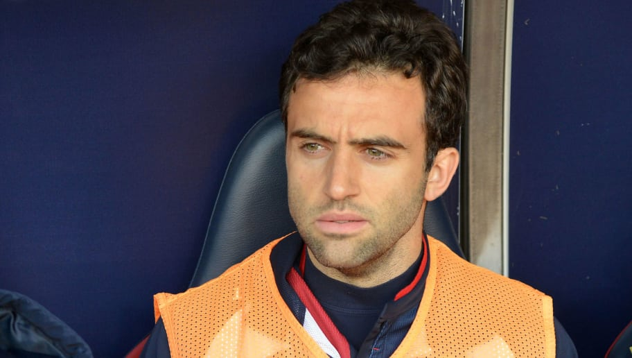 GENOA, ITALY - DECEMBER 23:  Giuseppe Rossi (Genoa)  in the bench during the serie A match between Genoa CFC and Benevento Calcio at Stadio Luigi Ferraris on December 23, 2017 in Genoa, Italy.  (Photo by Paolo Rattini/Getty Images)