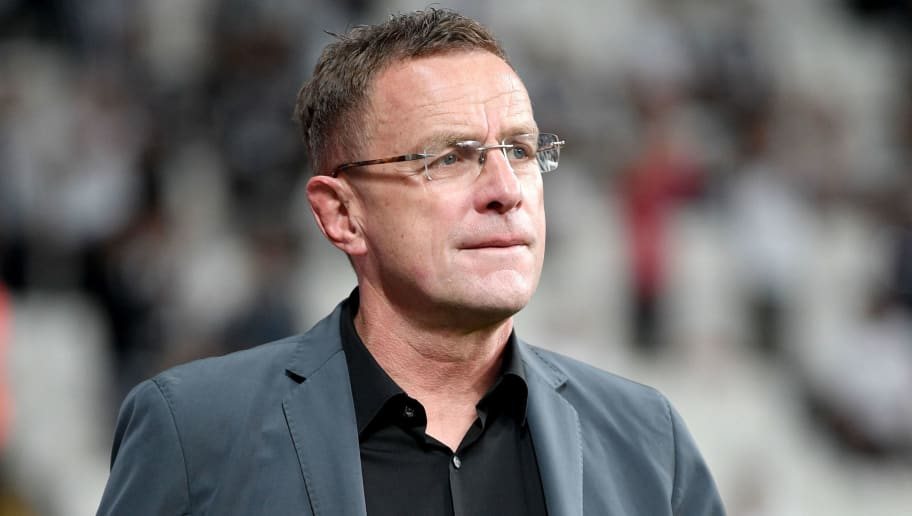 ISTANBUL, TURKEY - SEPTEMBER 26:  Ralf Rangnick, RB Leipzig sporting director is seen prior to the UEFA Champions League Group G match between Besiktas and RB Leipzig at Besiktas Park on September 26, 2017 in Istanbul, Turkey.  (Photo by Stuart Franklin/Bongarts/Getty Images)