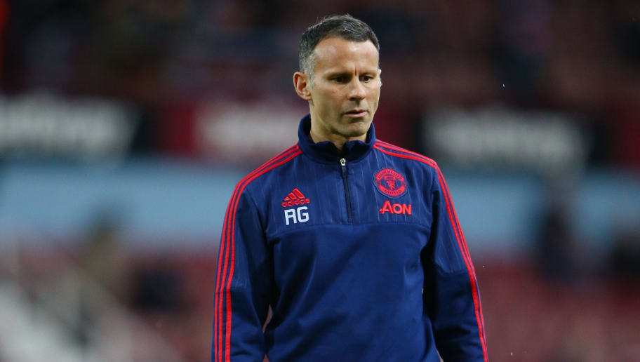 LONDON, ENGLAND - APRIL 13:  Ryan Giggs, Assistant Manager of Manchester United looks on prior to the Emirates FA Cup, sixth round replay between West Ham United and Manchester United at the Boleyn Ground on April 13, 2016 in London, England.  (Photo by Ian Walton/Getty Images)