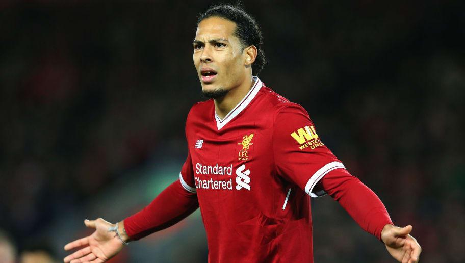 Liverpool S Virgil Van Dijk Responds To Jamie Carragher S Infamous Weight Comments 90min