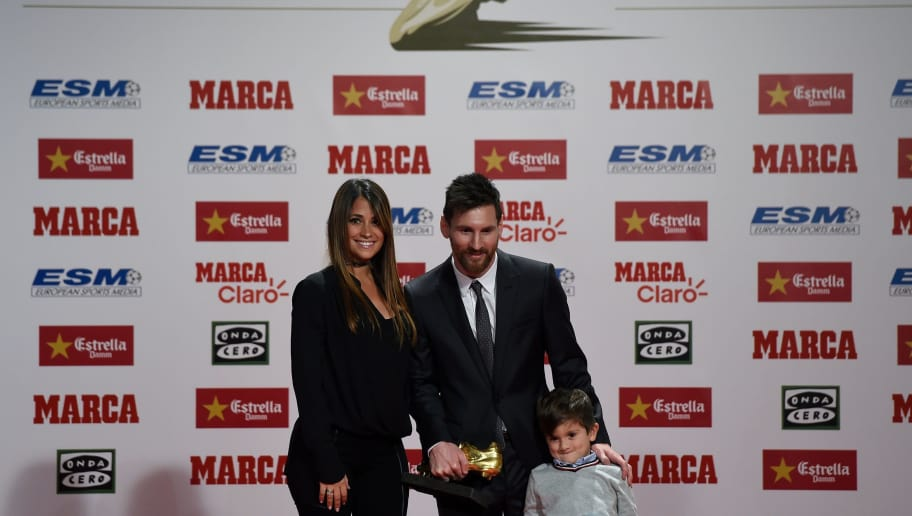 Lionel Messi Wife Antonella Roccuzzo Announce The Name Of Their Third Child 90min