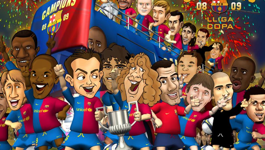 El Barcelona Podría Tener Una Película De Dibujos Animados De Los