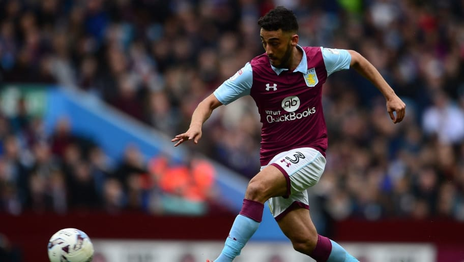 BIRMINGHAM, UNITED KINGDOM - APRIL 01: Neil Taylor of Aston Villa during the Sky Bet Championship match between Aston Villa and Norwich City at Villa Park on April 1, 2017 in Birmingham, England. (Photo by Harry Trump/Getty Images)