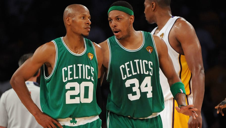 13bdf2ea0a8 Ray Allen Blew Off Paul Pierce's Ceremony for the Most Ridiculous Reason  Possible