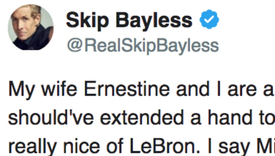 c047c2c4c97c Skip Bayless Calls Out LeBron James for Worst Reason Imaginable