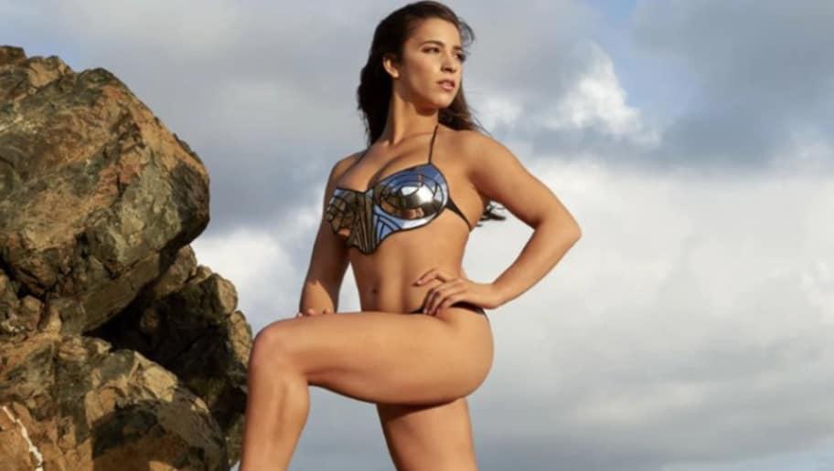 ef26be83f1cf4 Female Athletes Post Scorching Hot Sports Illustrated Swimsuit Photos