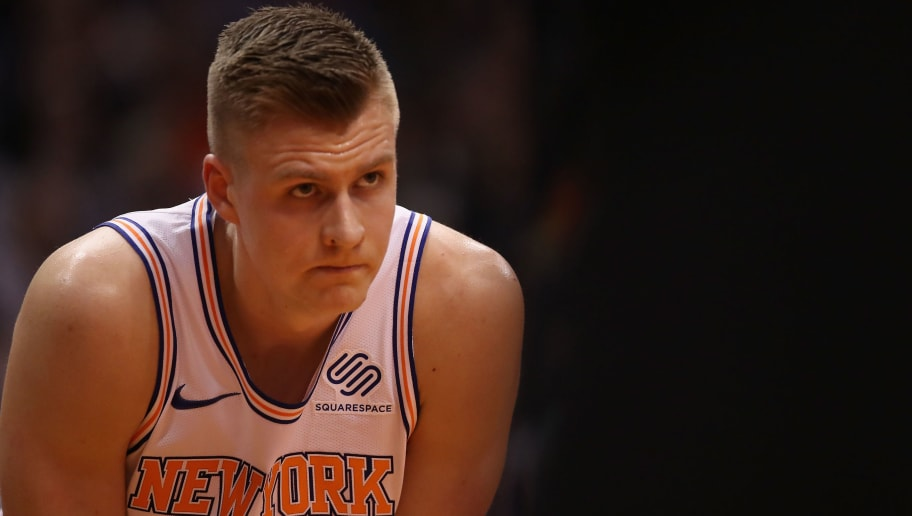 99ef3d6b1b45 REPORT  Kristaps Porzingis Expected to Miss at Least 10 Months