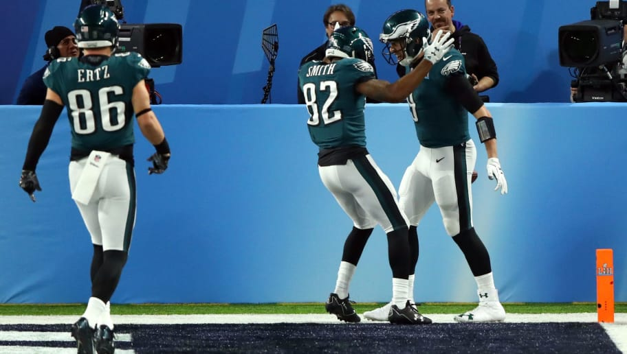 reputable site 801e8 ff26c Torrey Smith's Comment About the 'Philly Special' Being ...