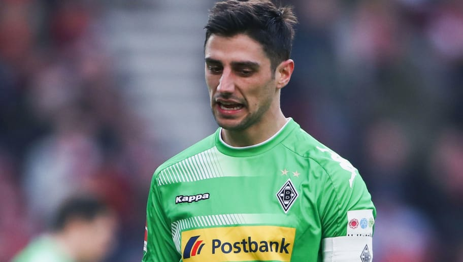 STUTTGART, GERMANY - FEBRUARY 11: Lars Stindl of Moenchengladbach reacts during the Bundesliga match between VfB Stuttgart and Borussia Moenchengladbach at Mercedes-Benz Arena on February 11, 2018 in Stuttgart, Germany.  (Photo by Alex Grimm/Bongarts/Getty Images)