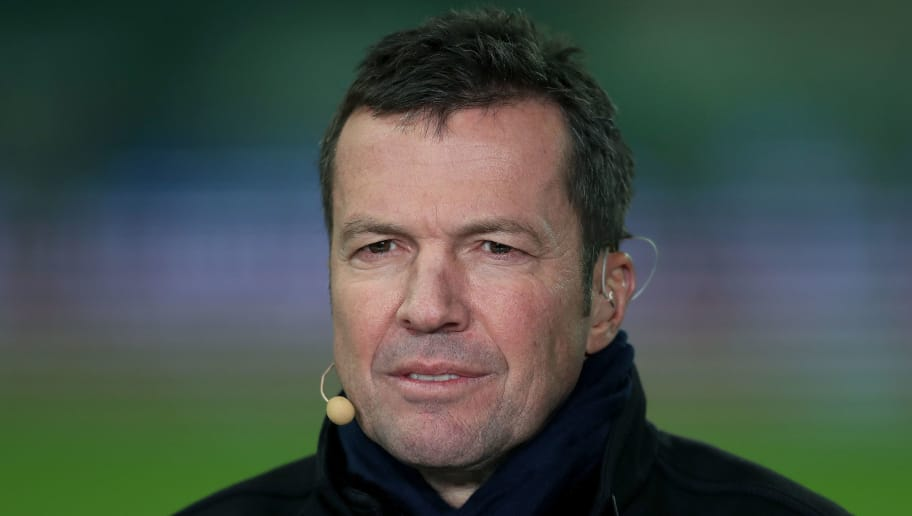 WOLFSBURG, GERMANY - DECEMBER 17: TV expert Lothar Matthaeus is pictured prior to the Bundesliga match between VfL Wolfsburg and Eintracht Frankfurt at Volkswagen Arena on December 17, 2016 in Wolfsburg, Germany. (Photo by Ronny Hartmann/Bongarts/Getty Images)
