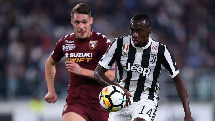 fb58de927 Juventus s midfielder from France Blaise Matuidi (R) vies with Torino  italian forward Andrea Belotti